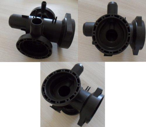 LG - Cuerpo de bomba de desagüe completo para lavadora LG