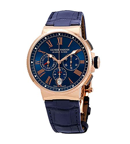 Ulysse Nardin Marine Chronograph Automatic Men's Watch 1532-150/43