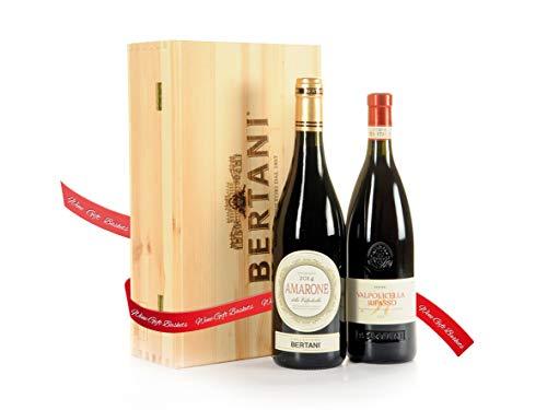 Regalo Vini Amarone e Valpolicella Ripasso Cantina Bertani – Regalo Vino per le Occasioni Importanti - Cod. 182