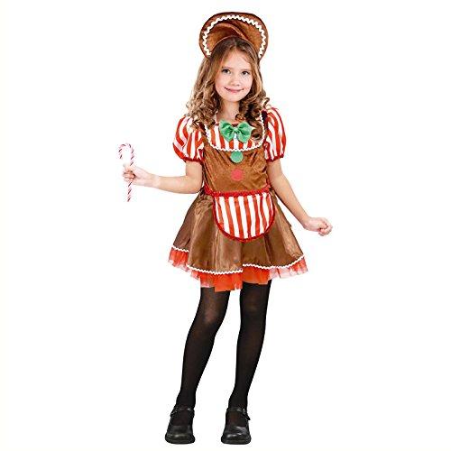 Disfraz Muñeca Ginger Navidad para niña 10-12 años