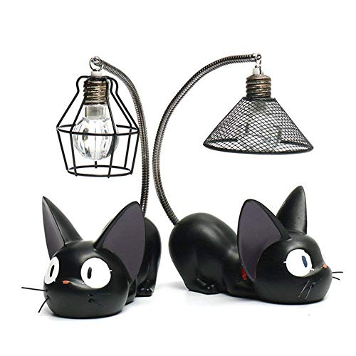 ZSTCO Kiki's Delivery Service Chats Chiffres Night Light, 2...