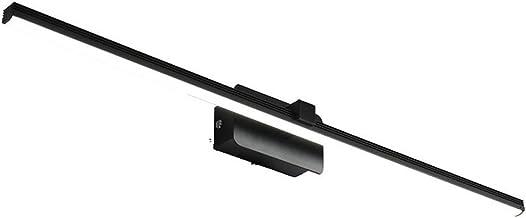 De nieuwe Badkamer Zwart LED Mirror Front Light Simple Modern Fashion Creative Nordic Energiebesparende Waterproof Fog Stu...