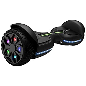 Jetson Z12 Extreme Terrain Hoverboard with LED Galaxy Light-Up Wheels Bluetooth Speaker LED Lights App Enabled UL 2272 Certified for Kids and Teens