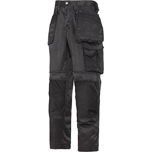 Snickers Workwear Herren Duratwill Arbeithose, Schwarz-schwarz, 60 EU