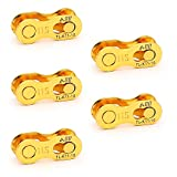AQQ Bicycle Missing Link 1/6/7/8/9/10/11/12 Speed Bike Chain Connector Lock Set MTB Road Bicycle Connector for Quick Master Link Joint Chain pin