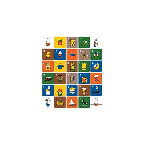 IXXI Kids Miffy ABC (English) 30 Karten, 20 x 20 cm