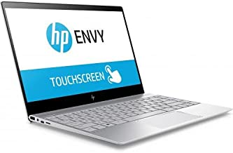 HP ENVY Laptop, Windows 10 Home, Intel Core i7-8550U, NVIDIA GeForce MX150 with 2 GB GDDR5, 512 GB, Silver, 13.3