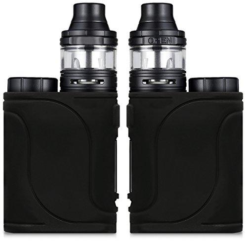 kwmobile Hülle kompatibel mit Eleaf iStick Pico 25 Kit - Silikon Case TPU Schutzhülle - Cover Etui Schwarz
