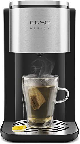 CASO HW500 Touch Design Heißwasserspender -heißes Wasser in nur 5 Sekunden, spart bis zu 50% Zeit & Energie gegenüber einem Wasserkocher, Wasserbezug durchlaufend oder in 100ml/200ml/300ml Schritten