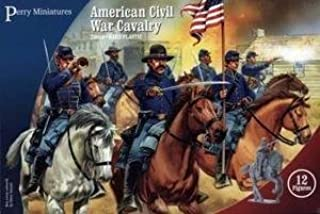 Perrys Miniatures Pmacw2 Perry Miniatures 28Mm - American Civil War Cavalry Model Soldiers by Perrys Miniatures