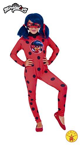 Ladybug – Miraculous kostuum, L (Rubie 's Spain 640588-l)