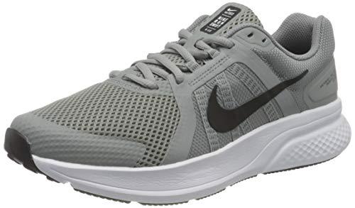 Nike Calzado de Running para Hombre Run Swift 2, Particle Grey/Black-White, 9.5 US