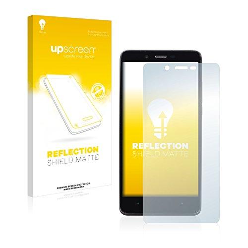 upscreen Entspiegelungs-Schutzfolie kompatibel mit Elephone P6000 – Anti-Reflex Bildschirmschutz-Folie Matt