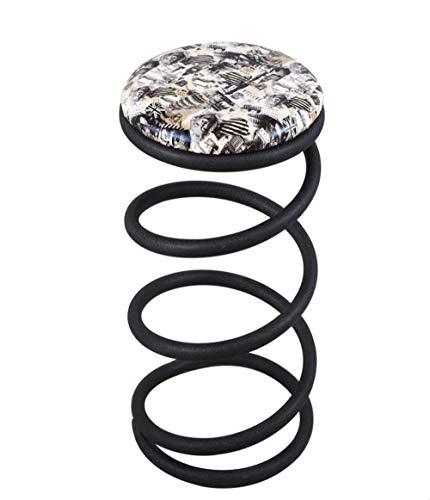 TongN Escabel Light Luxury Front Desk Bar Chair Home High Stool Fashion Spring Taburete 73x41.5cm