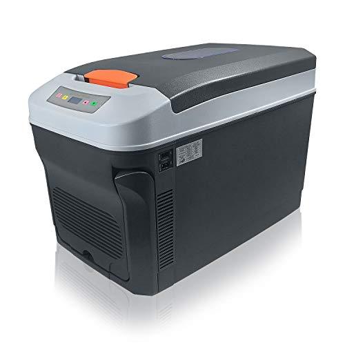 Froadp 35L Auto Kühlschränke 12V Mini Kühlbox Elektrische Wärmt & Kühl Gefrierbox Tragebare für Auto Camping Party Strand Büro