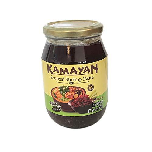 kamayan ginisang bagoong (sauteed shrimp paste regular) - 17.64oz