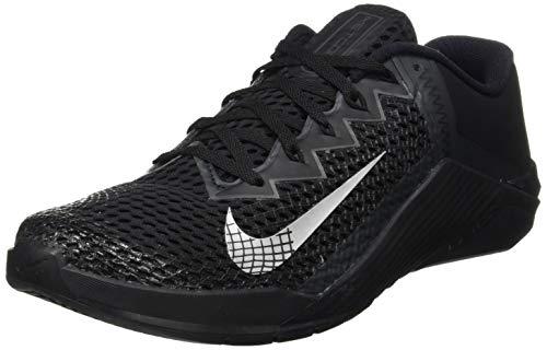 Nike Metcon 6, Scarpe da Calcio Unisex-Adulto, Black/Mtlc Silver-Anthracite, 42 EU