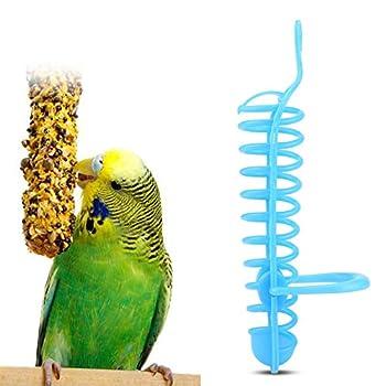 【𝐕𝐞𝐧𝐝𝐫𝐞𝐝𝐢 𝐍𝐨𝐢𝐫】Panier de mangeoire, Abreuvoir de Cage à Oiseaux, Support de Support de Perche en Plastique, Panier de mangeoire en Plastique, 25 cm / 9.8in intérieur pour Perruche calopsit