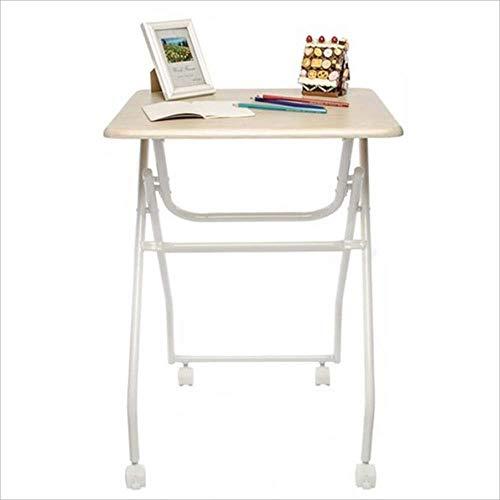 YZjk Liang Laptop Tisch Klapptisch Schreibtisch mit Roller Klapptischen