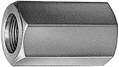 Verzinkt SW 13 M10 x 35 10 St/ück 10X M10x35 Verbindungsmuttern Langmuttern Gewindeh/ülsen Distanzmuffen Gewindemuffen Sechskant galv