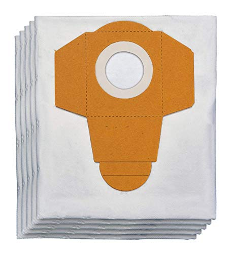 5 Bolsas SpareHome® Filterplus compatibles con aspiradores Einhell de 30L - 23.511.70