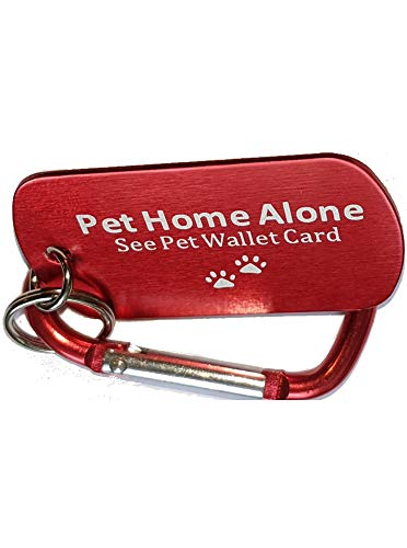KumasonCo Pet Dog ID Tag and Emergency Wallet Card with Laminating Pouch (kit)