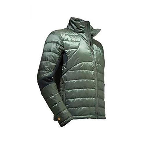 BERETTA Giacca Piumino Warmbis Jacket Man Colore Verde Tg. XL con Inserti Elastici Neri