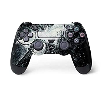 Skinit Decal Gaming Skin for PS4 Controller - Officially Licensed Warner Bros Batman Dark Knight Rises Design
