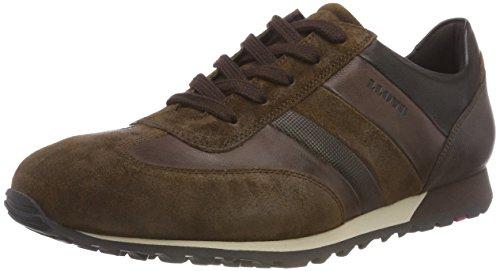 LLOYD Herren Agon Sneaker, Braun (Nut/Ebony/Chocolate/Schwarz 2), 43 EU