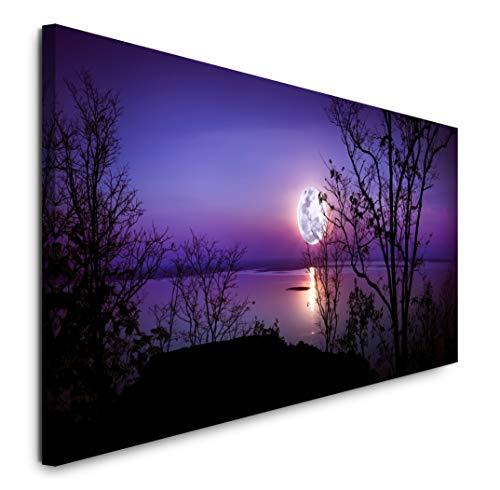 Paul Sinus Art GmbH Panorama 120x 50cm Panorama Leinwand Bild XXL Format Wandbilder Wohnzimmer Wohnung Deko Kunstdrucke