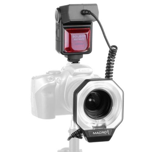 Soligor Ringblitz AR14 TTL für Canon