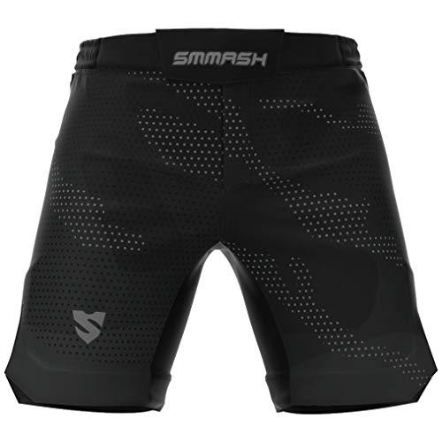 SMMASH Murk Deporte Profesionalmente Ultraligero Pantalones Cortos MMA para Hombre, Shorts MMA,...