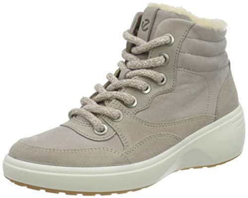 ECCO Damen Soft 7 Wedge Tred Ankle Boot, Grey Rose/Grey Rose/Moon Rock, 41 EU