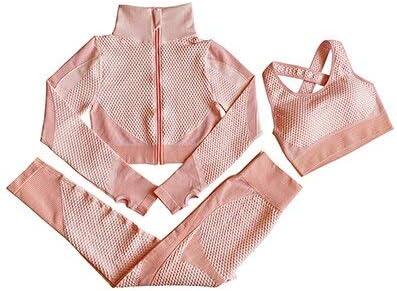 SUZYN Fitness Clothing 3PCS Women Yoga wholesale Seamle Sport Selling rankings Suit