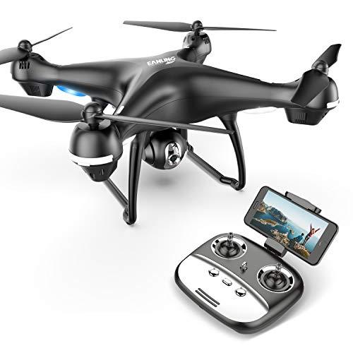 Eanling FPV RC Drohne HS100G mit 1080P FHD Kamera 5G live Übertragung und GPS,Lange Flugzeit,RC Quadrocopter ferngesteuert mit Follow Me,automatische höhenhaltung,Coming Home für Anfänger
