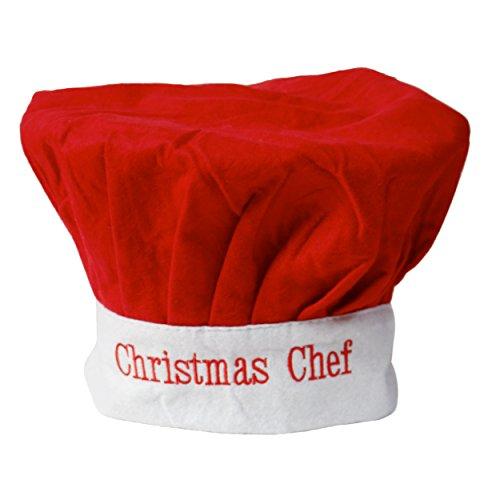Adult Christmas Chef Hat