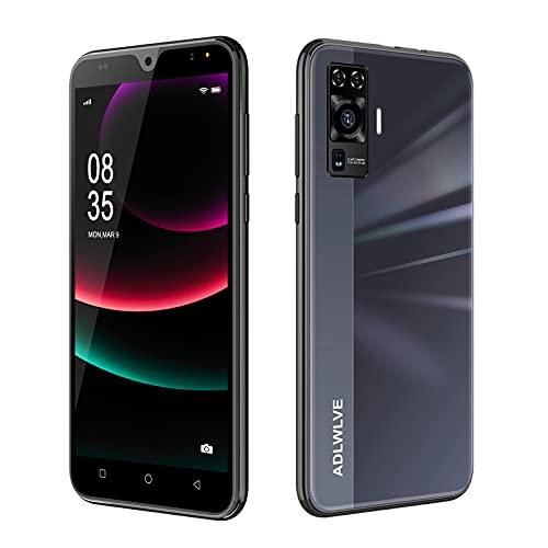 4G Smartphone Offerta del Giorno,2GB RAM 16GB ROM,5.5 Pollici Waterdrop Android 9.0 Cellulari e Smartphone 8MP Fotocamera Telefono Cellulare con Wifi Dual SIM 3600mAh Cellulare Offerta (Nero)