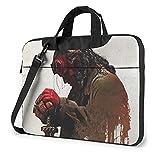 Funda para portátil Hellboy Tablet maletín Ultraportable Lona protectora para MacBook Pro/MacBook Air/Notebook Computer