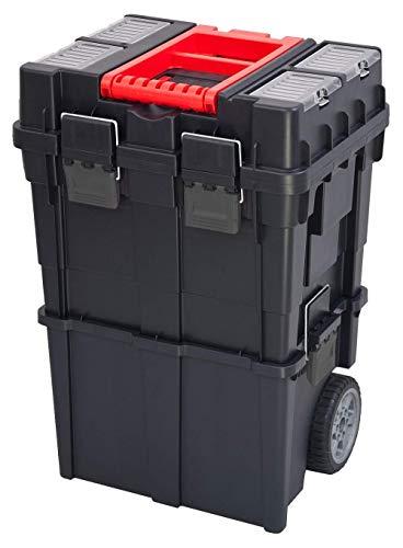 XL Werkstattwagen, Rollwagen HD WHEELBOX mit viel Zubehör! B x T x H in cm: 49,5 x 35 x 97 cm ! Der Mobile Alleskönner - Privat & Gewerbe