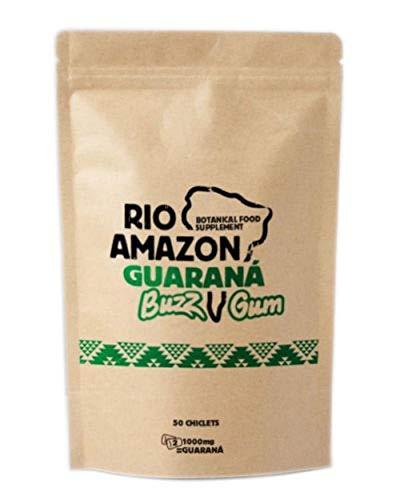 Rio Amazon GoGo Guarana Buzz Gum Pouch 50 chiclets (Pack of 2)