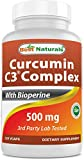 Curcumin C3 Complex With Bioperines Review and Comparison