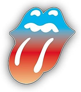 ShadowMajik Sticker en Vinyle Motif Rolling Stones 4 X 3.6 Blanc smac1144msc4wht