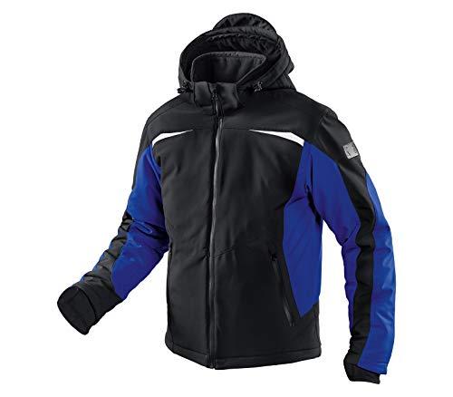 KÜBLER WEATHER Softshelljacke schwarz, Größe L, Unisex-Arbeitsjacke aus Mischgewebe, wind- und wasserabweisende Softshelljacke von KÜBLER Workwear