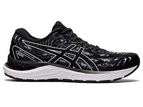 ASICS Women's Gel-Cumulus 23 Running Shoes, 12M, Black/White
