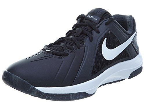 Nike Mens Air Mavin Low Black/White/Anthracite Basketball Shoe 9 Men US