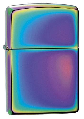 Zippo Spectum Accendino Antivento Spectrum, Brass, Multicolore, 3.5 x 1 x 5.5 cm