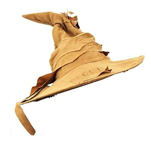 I LOVE FANCY DRESS LTD Sombrero DE Mago Marron para Adultos Accesorio DE Disfraz Halloween O Fiestas TEMATICAS (1 Unidad)