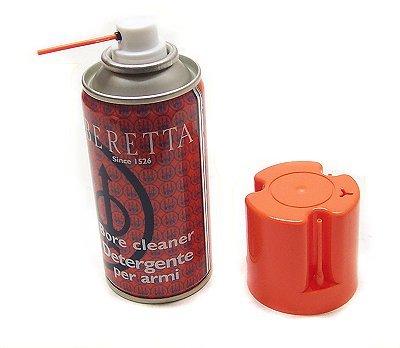 Detergente per armi spray. Rimuove i residui di combustione ed eventuale umidità nelle canne e negli strozzatori. Propellente ecologico. Prodotto made in Italy.