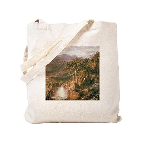 CafePress Einkaufstasche Frederic Edwin Church Heart of Andes, canvas, khaki, S