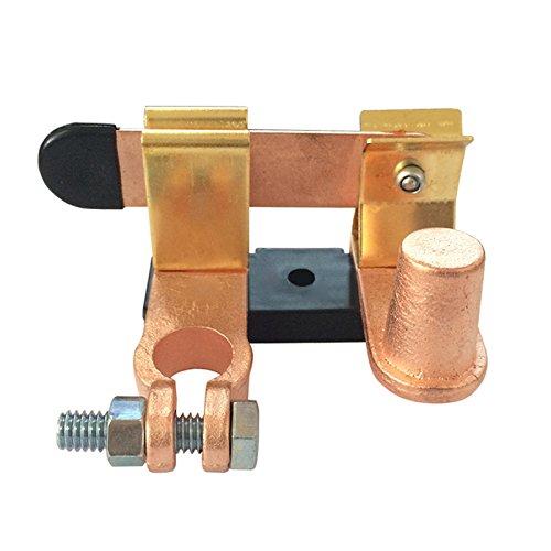 BEESCLOVER Interrupteur d'arrêt de batterie de voiture en cuivre